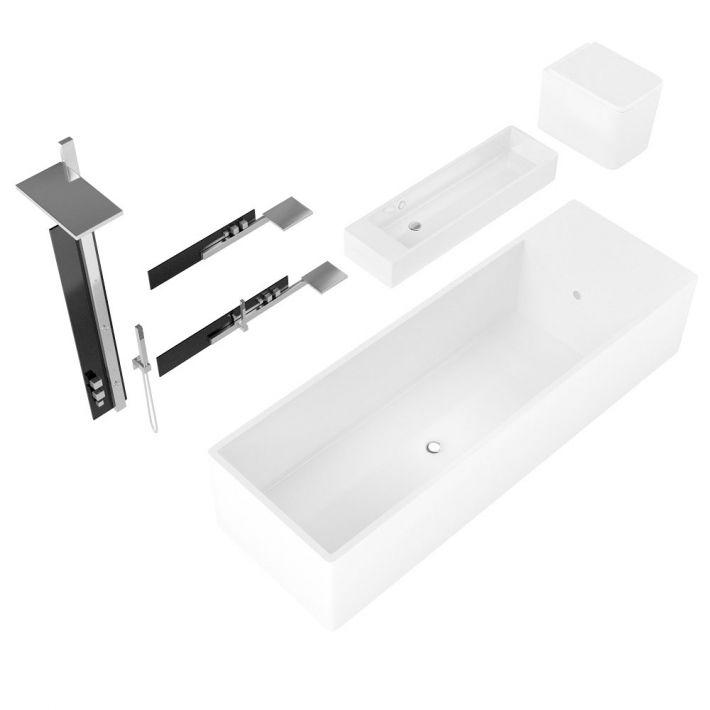 bathroom fixtures 39 AM127 Archmodels