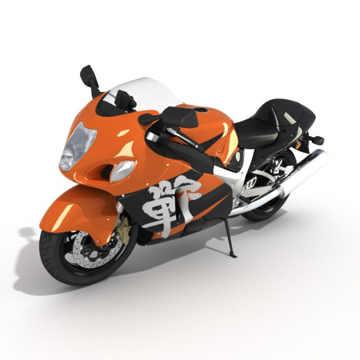 motorbike 4 AM5 for Cinema4D Archmodels