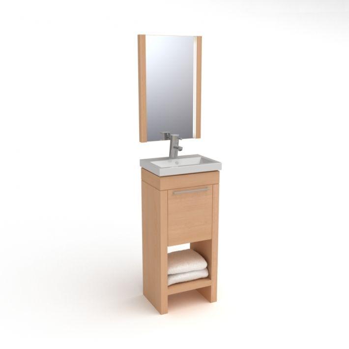 bathroom furniture set 13 AM56 Archmodels