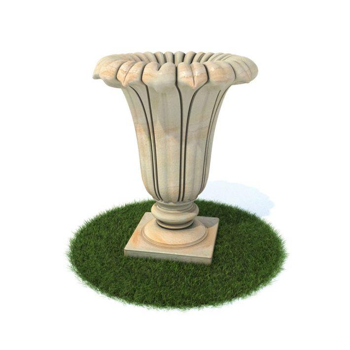flower pot 7 AM105 Archmodels