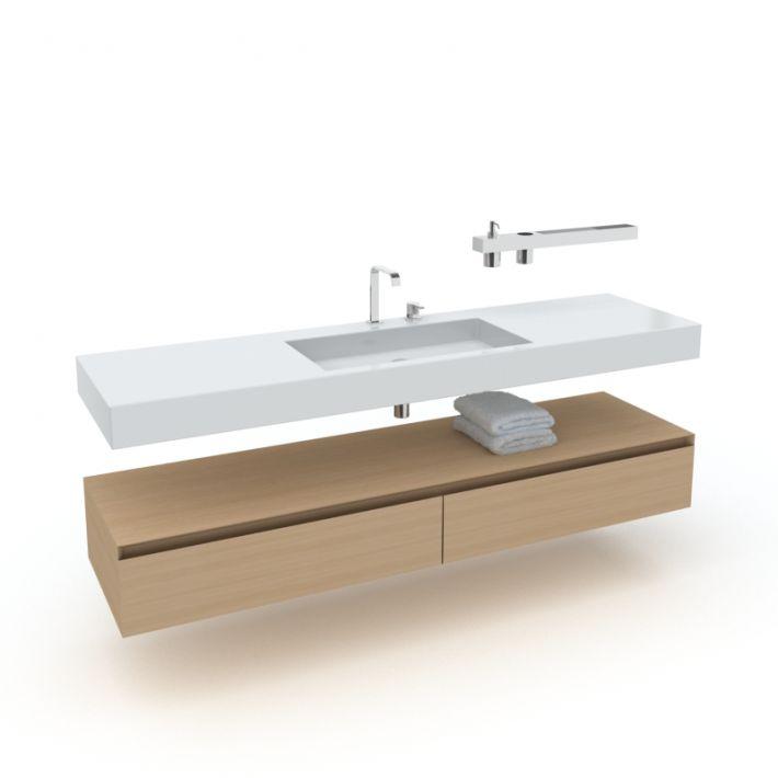 bathroom furniture set 4 AM56 Archmodels