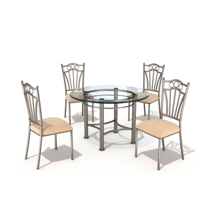 table & chair set 32 AM54 Archmodels