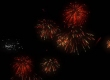 Fireworks in 3ds Max.
