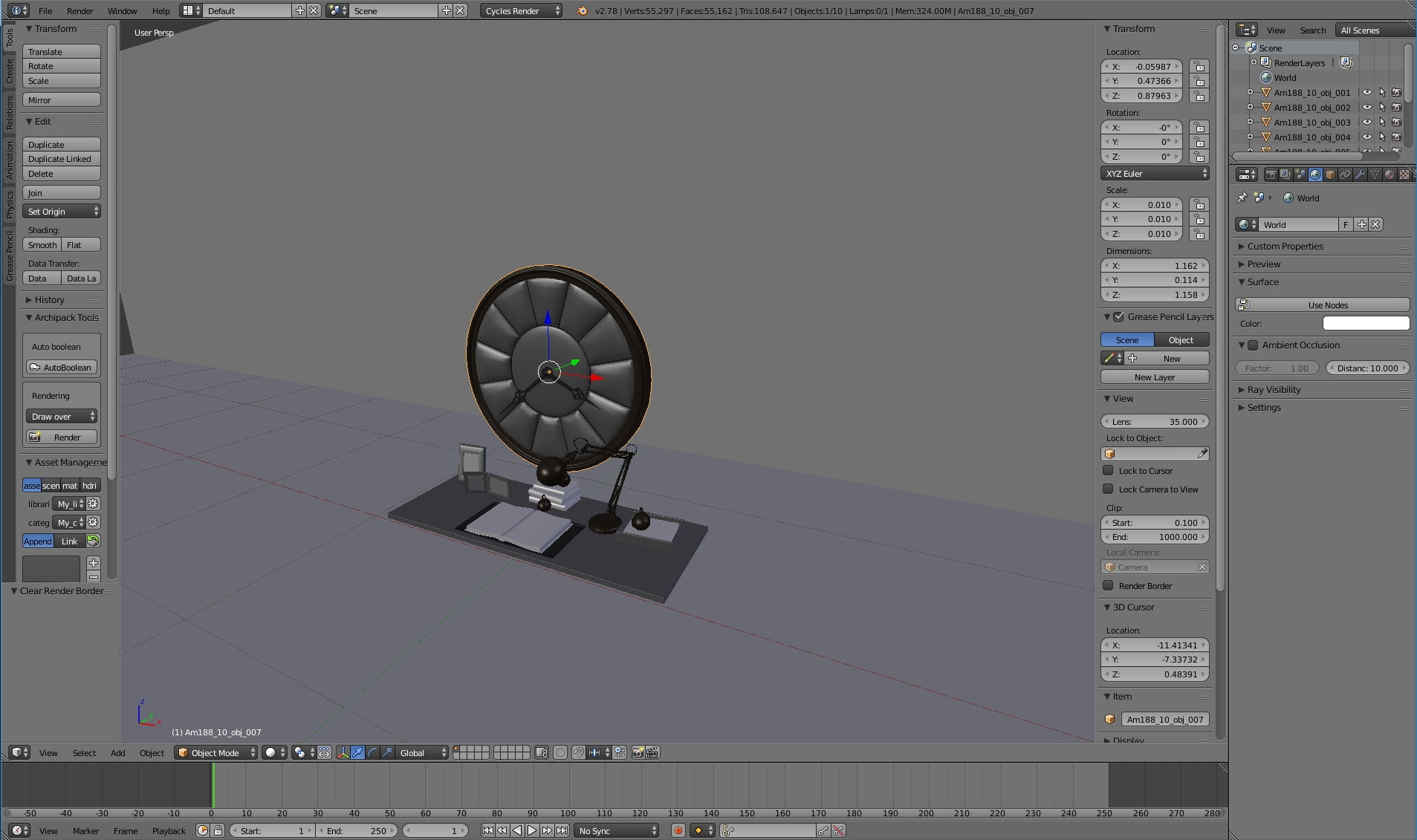 Clock animation: Blender to Unreal Engine - Tip of the Week