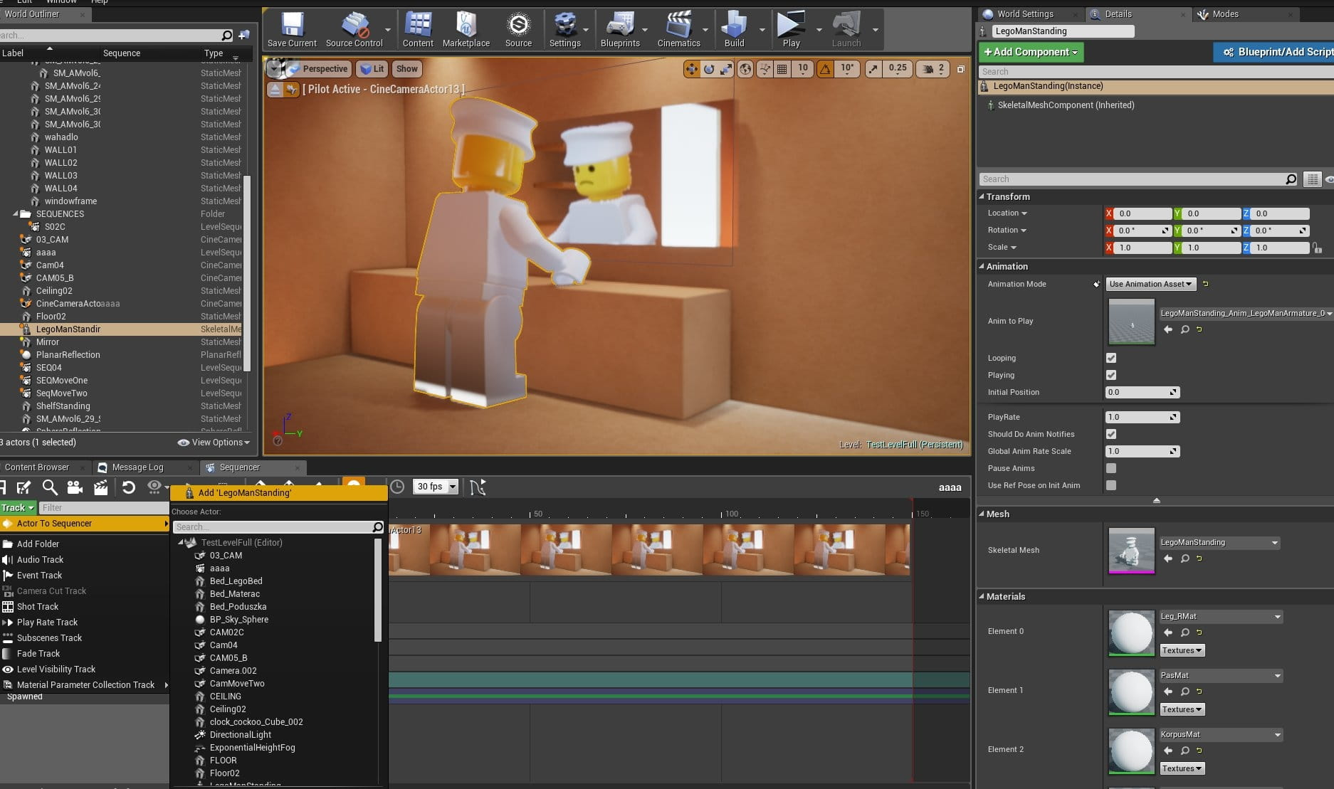 Lego Animation: from Blender to Unreal Engine - Evermotion