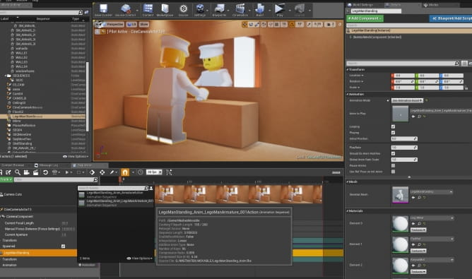 Lego Animation: from Blender to Unreal Engine : 네이버 블로그