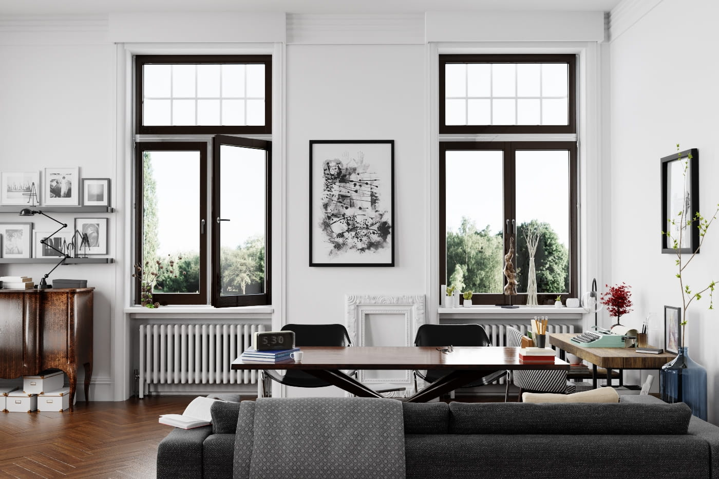 Making of Writer\'s Living Room - tip of the Week - Evermotion