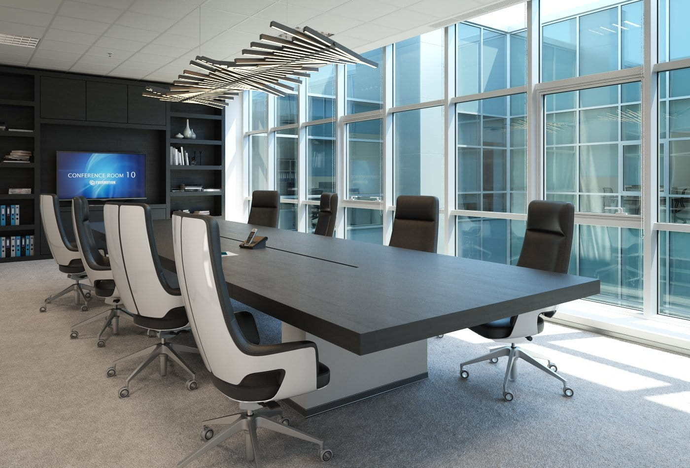 making of small conference room