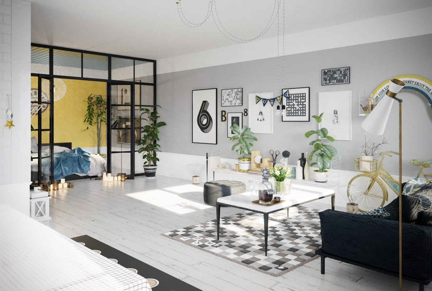 Inspiring Living Room - From 3ds Max to Unreal - Evermotion