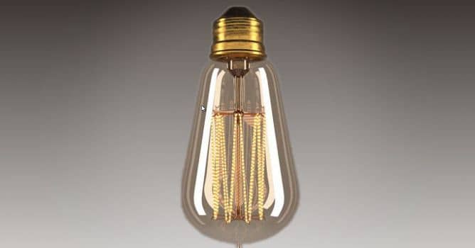Creating Materials for Edison Light Bulb - Evermotion