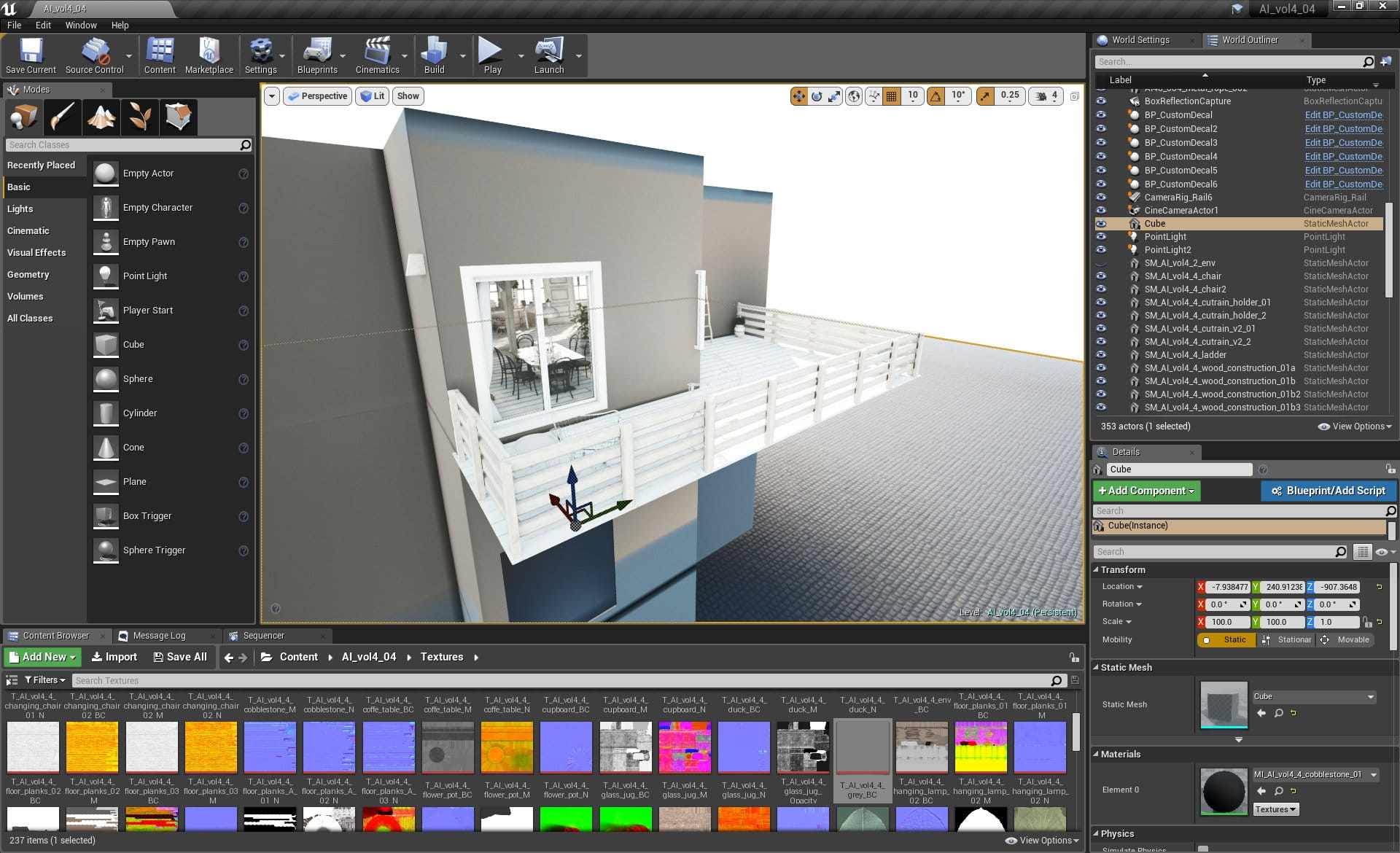 Unreal Engine: Making of Vintage Loft - Tip of the Week - Evermotion