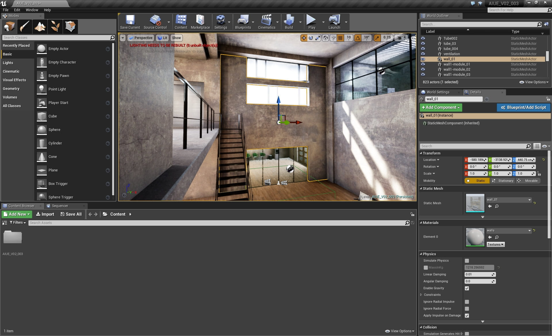 Making of Huge Loft in Unreal Engine - Tip of the Week - Evermotion