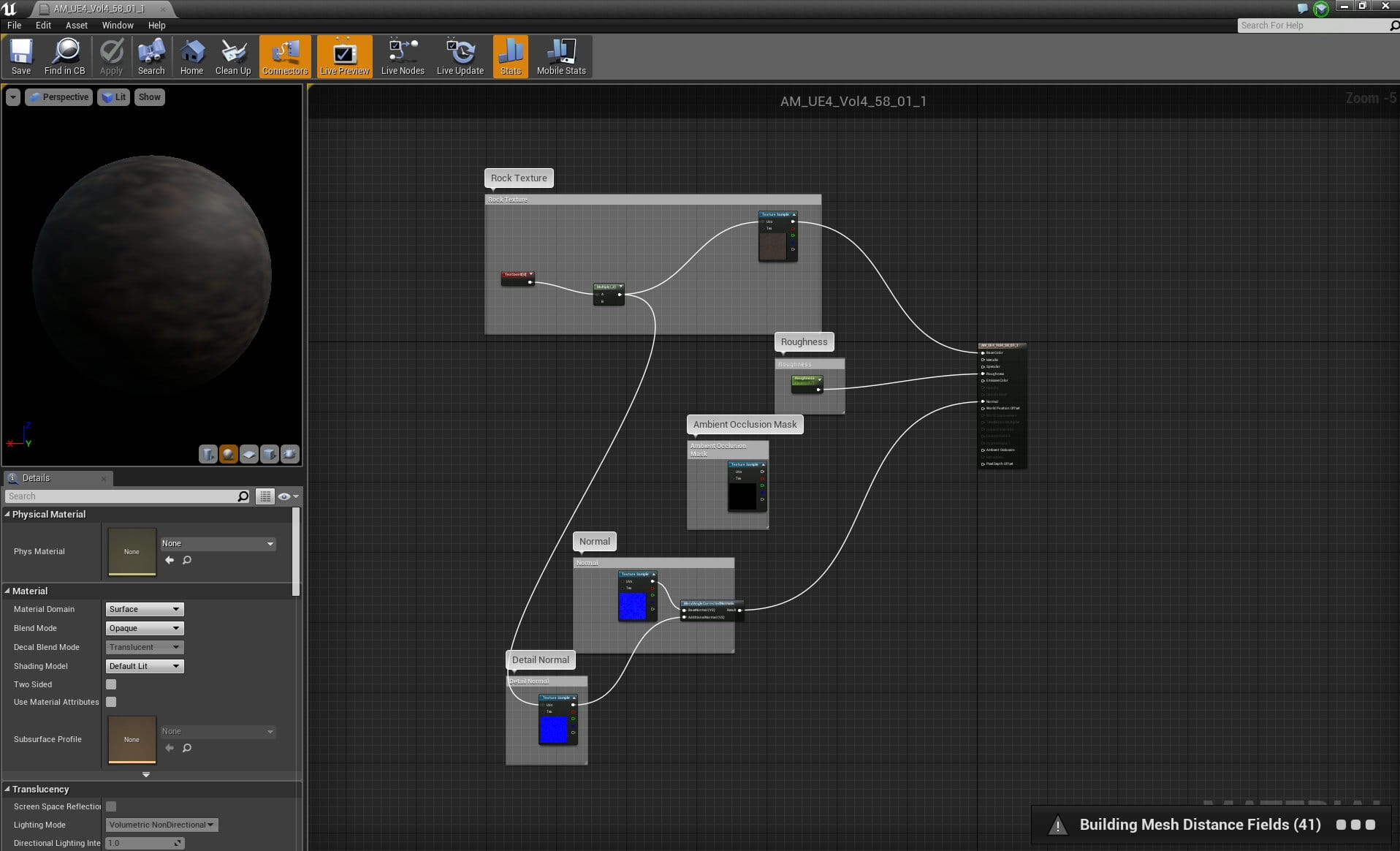 Making of Unreal Engine Forest Scene - Tip of the Week