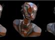 How to model a robot In Blender