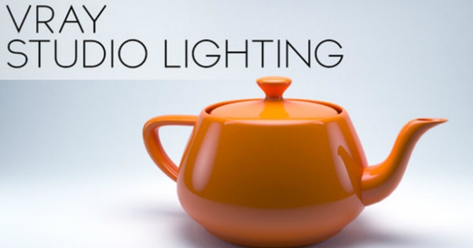 Studio Lighting in V-Ray - 3DS Max 2014 - Evermotion
