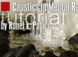 Caustics in Mental Ray tutorial