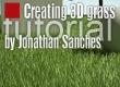 Creating 3D grass