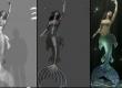 CGI VFX Making of HD: Magic Mirror - Mermaid