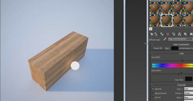 Making V Ray Wood Texture In 3ds Max Evermotion