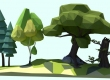 Making Low Poly Trees in Blender