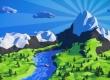 Creating low poly landscape in Blender
