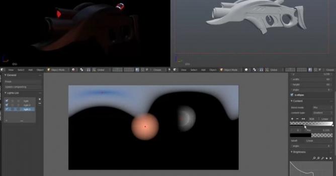 HDRI Editor for Blender released - Evermotion org
