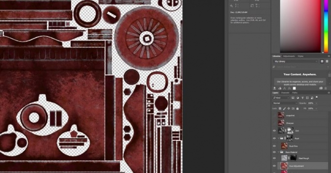 Substance Painter 2 3 Adobe Photoshop Export - Evermotion
