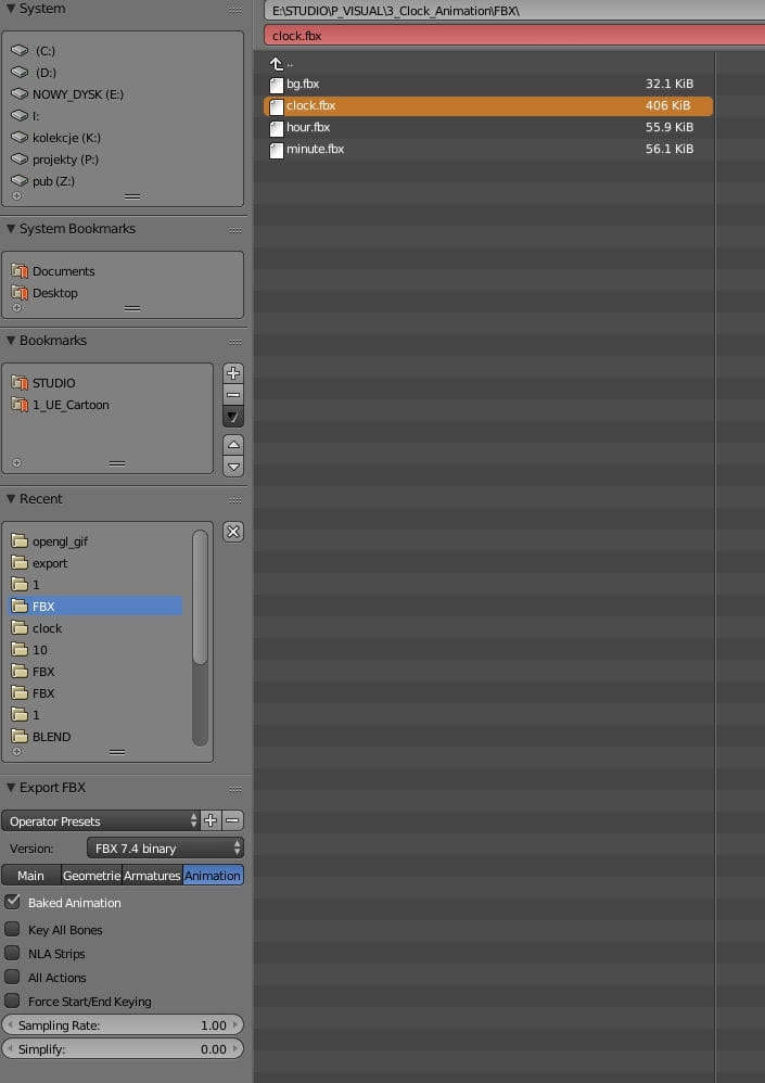 Clock animation: Blender to Unreal Engine - Tip of the Week - Evermotion