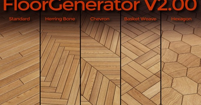 Floor Generator v 2 0 is here! - Evermotion org