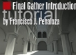 Final Gather Tutorial Introduction
