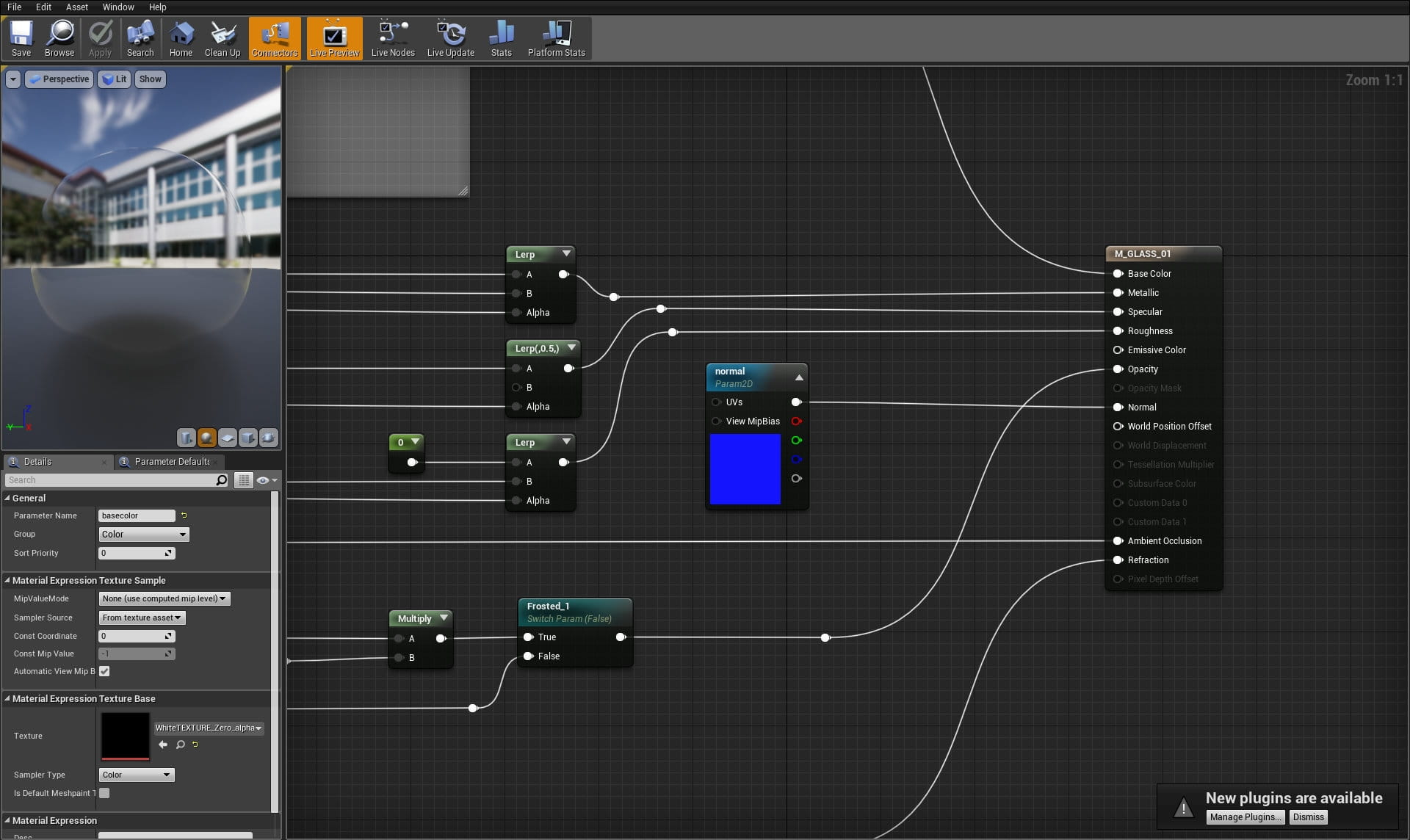 Unreal Materials Parameters - Tip of the Week - Evermotion