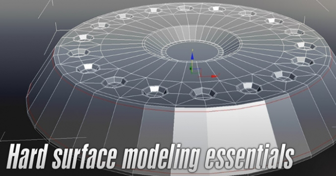 Hard Surface Modeling Essentials Evermotion