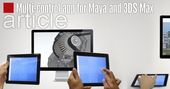 Maide Inc  creates multi-control app for Maya and 3DS Max - Evermotion