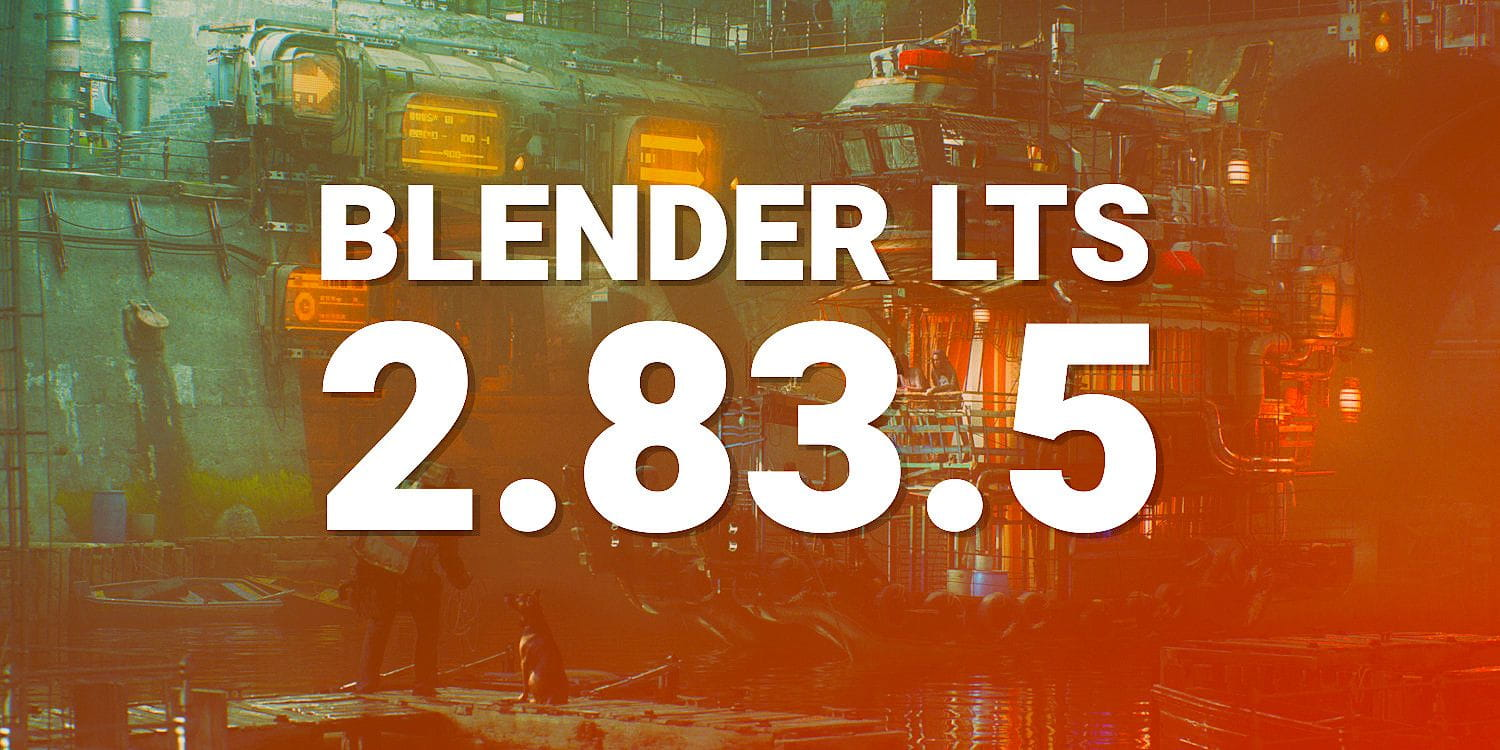 Blender LTS 2.83.5 is out!