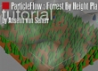 ParticleFlow Forrest By Height Plane