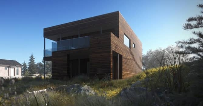 Corona Renderer: Making of The Lake House - Evermotion