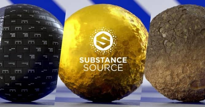 100 New Tweakable materials on Substance Source - Evermotion org
