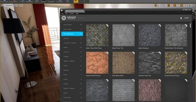 Substance Source in Unreal and Unity - Evermotion org