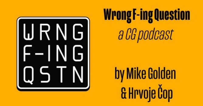 Wrong F-in Question - CG podcast - Evermotion org