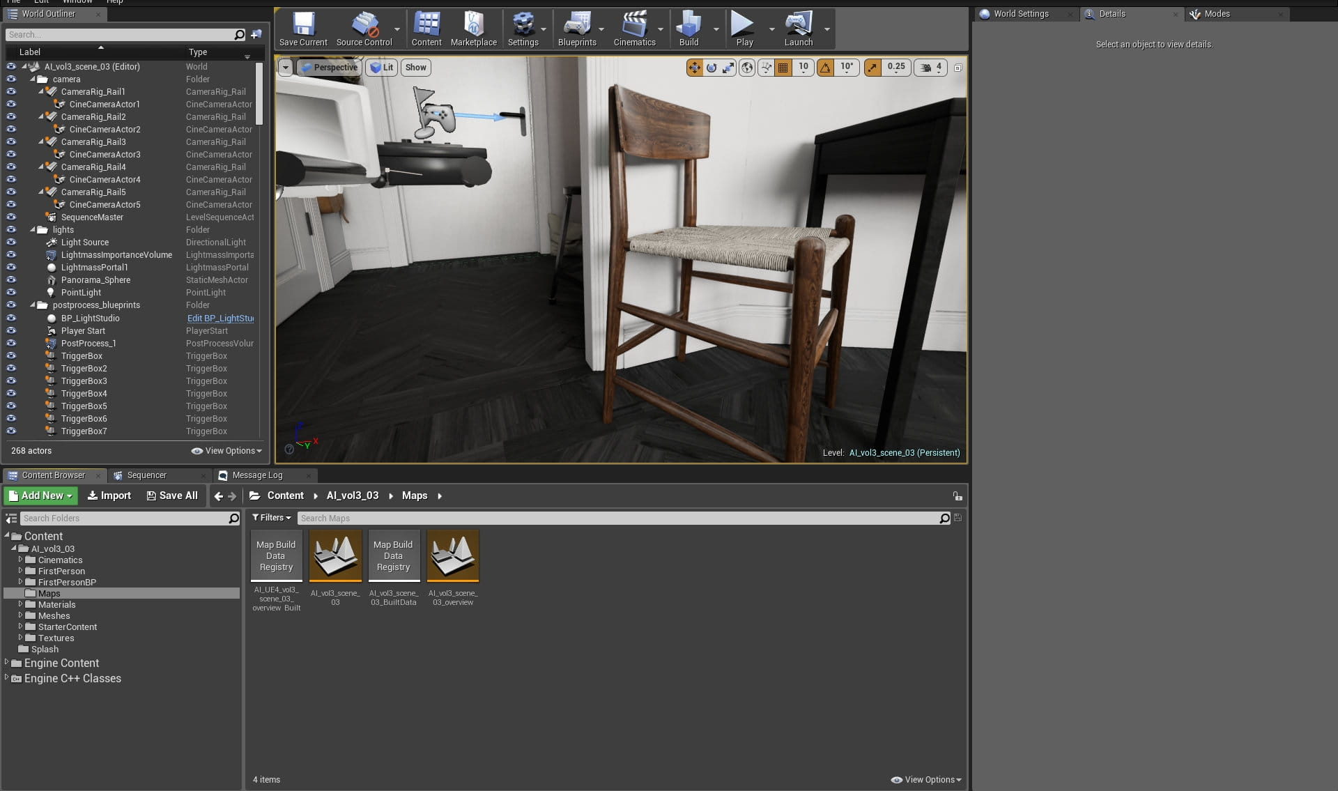 Making of Unreal Bedroom - Tip of the Week - Evermotion