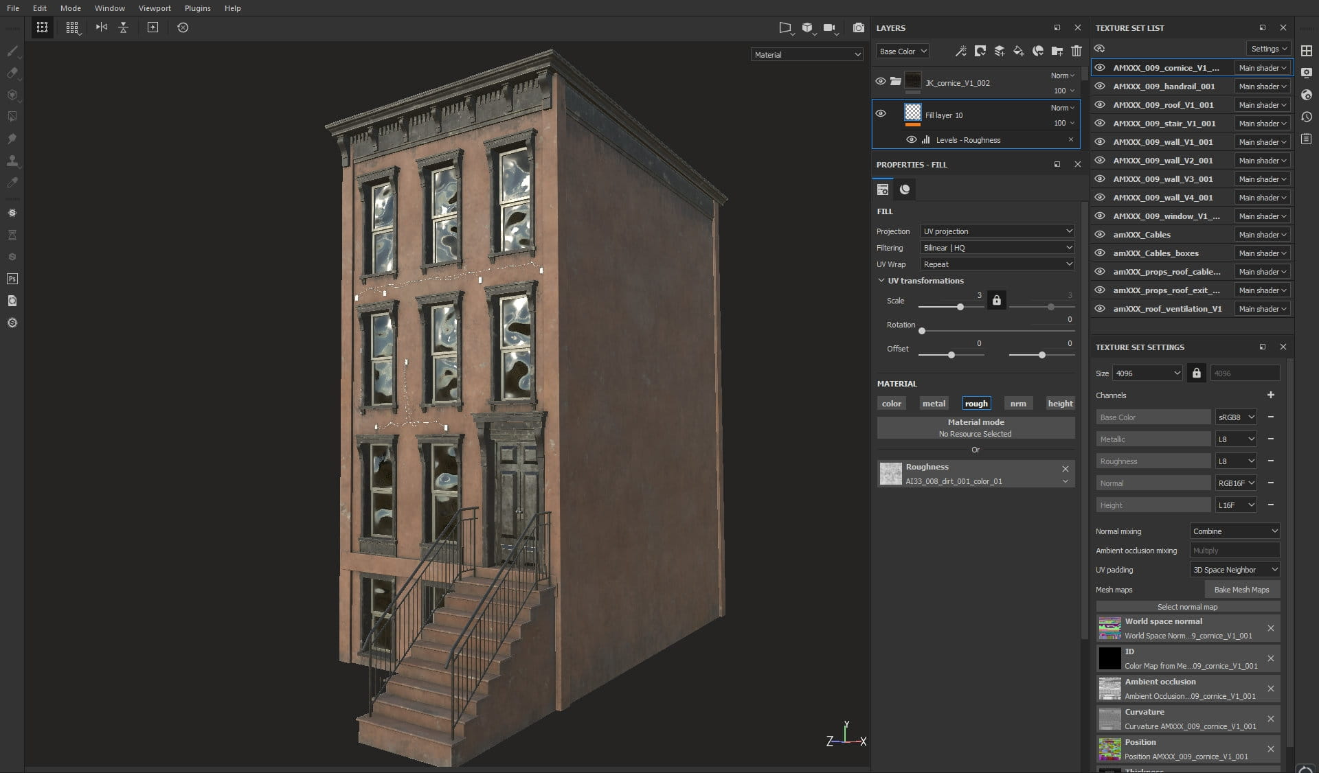 Texturing Brooklyn Building - Tip of the Week - Evermotion
