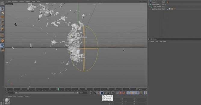 C4D Tutorial: Pose Morph, Animating Vertex Maps & Tearing