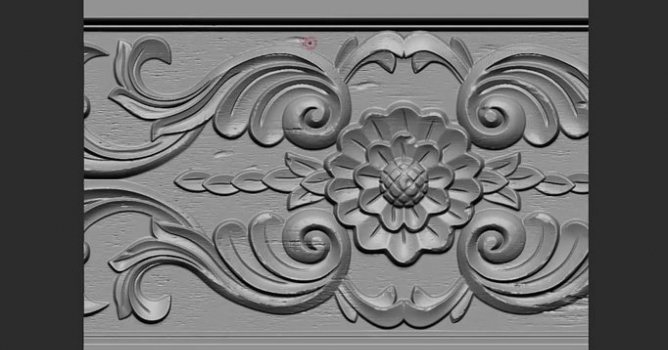Maya/Zbrush Wood carving texture tutorial - Evermotion