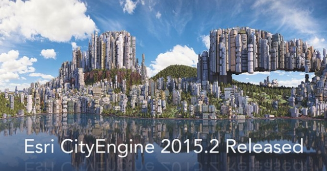 Esri City Engine 2015 2 released - Evermotion org