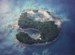 Turn Text Into A Tropical Island Scene