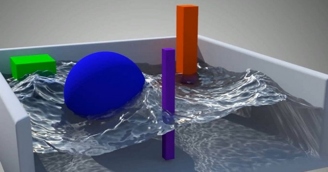 Blender tutorial  Cycles Water Uber Shader - Evermotion