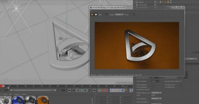 Solid Angle Arnold for Cinema 4D - Evermotion org