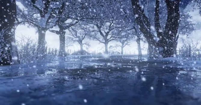 winter scene speed level design evermotion org