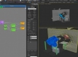 Creating cloth materials in Thinking Particles