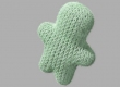 3D knitting concept in Cinema 4D